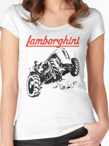 tractor shirt Women's Fitted Scoop T-Shirt