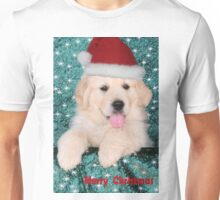 Christmas Puppy Unisex T-Shirt