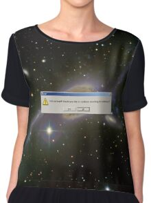 God Not Found - ngc 6872 gemini Chiffon Top