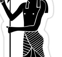 Egyptian God Horus Sticker