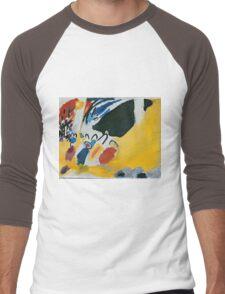 Kandinsky - Impression Iii (Concert) 1911  Men's Baseball ¾ T-Shirt