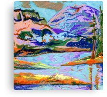 Gelly Roll Mountain Canvas Print