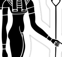 Egyptian Goddess Tefnut Sticker