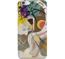 Kandinsky - Dominant Curve iPhone Case/Skin