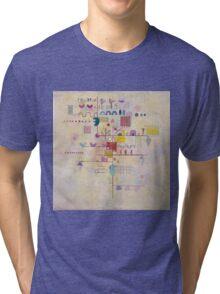 Kandinsky - Graceful Ascent Tri-blend T-Shirt