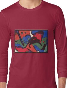 Kandinsky - The Blue Rider 1912  Long Sleeve T-Shirt
