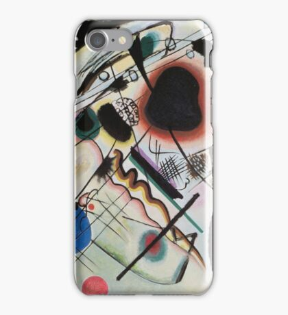 Kandinsky - Black Spot 1921  iPhone Case/Skin