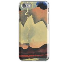 Kandinsky - Thunder Shower iPhone Case/Skin
