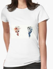 Heart and Mind Womens Fitted T-Shirt