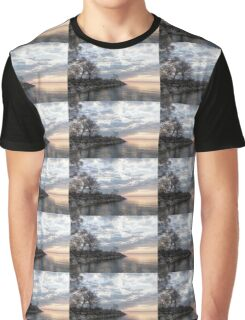 Lakeside Peace and Tranquility Graphic T-Shirt