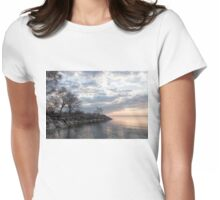 Lakeside Peace and Tranquility Womens Fitted T-Shirt