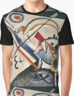 Kandinsky - White Cross Graphic T-Shirt