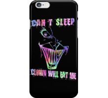 Can't Sleep, Clown Will Eat Me - Simpsons iPhone Case/Skin