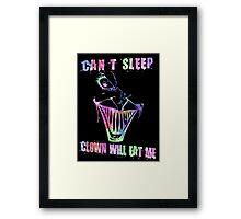 Can't Sleep, Clown Will Eat Me - Simpsons Framed Print