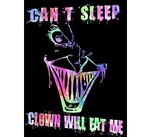 Can't Sleep, Clown Will Eat Me - Simpsons Photographic Print