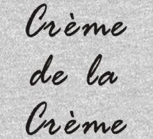 Black Best Ideal T-Shirt - French Saying crème de la crème Kids Tee