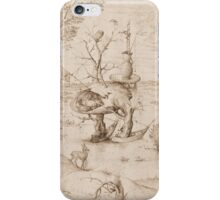 Hieronymus Bosch - The Tree-Man 1505 iPhone Case/Skin