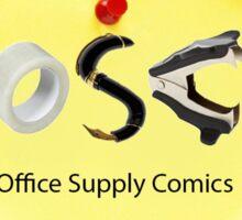 Office Supply Comics Sticker