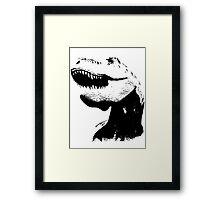 tyrannosaurus rex, Trex t-shirt Framed Print