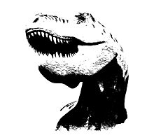 tyrannosaurus rex, Trex t-shirt Photographic Print