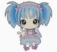 Cute little anime girl Baby Tee