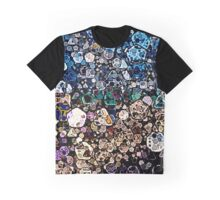 Abstract Geometric Shapes Graphic T-Shirt