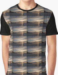 New Day on Ice - Sunrise on Lake Ontario  Graphic T-Shirt