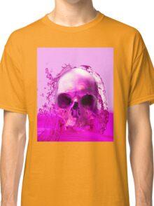 Purple Skull in Water Classic T-Shirt