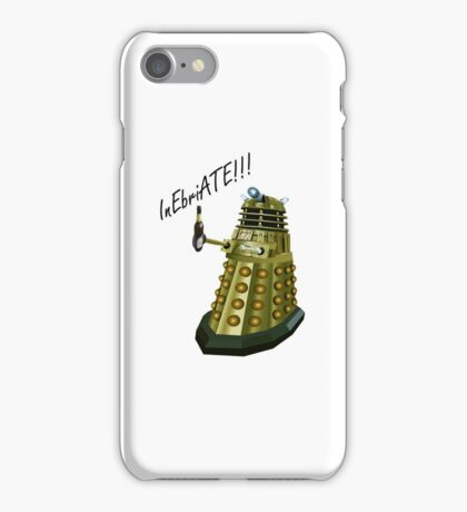 Drunk Dalek iPhone Case/Skin