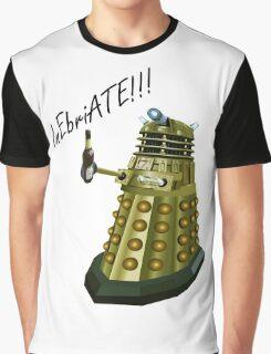 Drunk Dalek Graphic T-Shirt