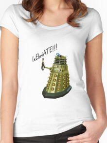Drunk Dalek Women's Fitted Scoop T-Shirt