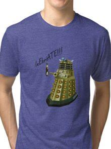 Drunk Dalek Tri-blend T-Shirt