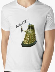 Drunk Dalek Mens V-Neck T-Shirt