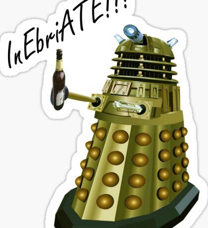 Drunk Dalek Sticker