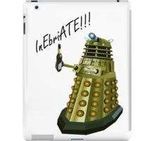 Drunk Dalek iPad Case/Skin