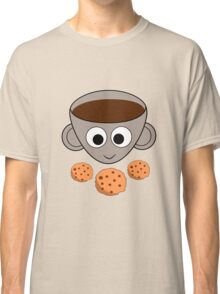 Funny coffee and cookies Classic T-Shirt