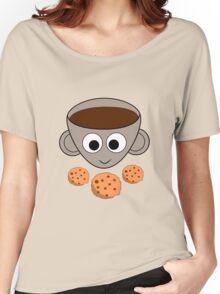 Funny coffee and cookies Women's Relaxed Fit T-Shirt