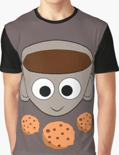 Funny coffee and cookies Graphic T-Shirt