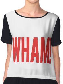 Wham! Chiffon Top