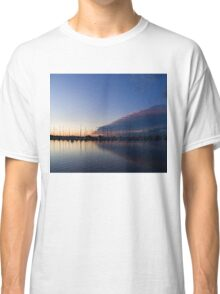 Peaceful Yachts and Sailboats Classic T-Shirt