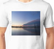 Peaceful Yachts and Sailboats Unisex T-Shirt