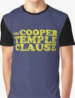 The Cooper Temple Clause Graphic T-Shirt