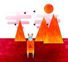 The desert shaman by Quentin LE GARREC