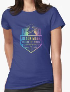Black Mage  Womens Fitted T-Shirt