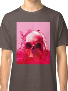Red Skull in Water Classic T-Shirt