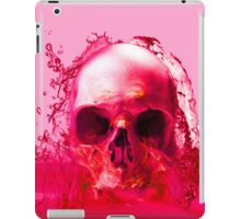 Red Skull in Water iPad Case/Skin