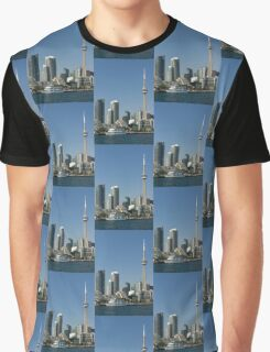 Up Close And Personal - Toronto's Skyline From The Harbour Graphic T-Shirt