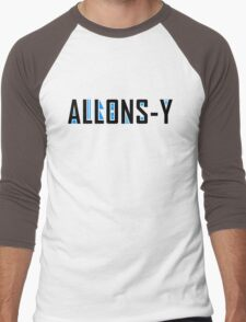 Allons-y Men's Baseball ¾ T-Shirt