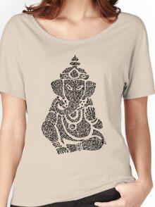 Ink Rain Ganesha Women's Relaxed Fit T-Shirt