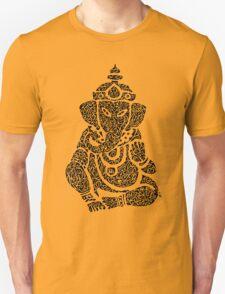 Ink Rain Ganesha T-Shirt
